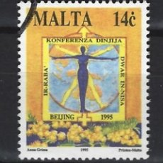 Sellos: MALTA - SELLO USADO . Lote 120359287