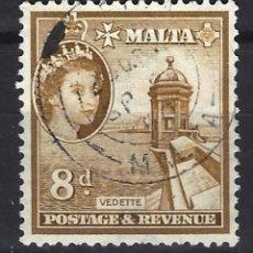 Sellos: MALTA - COLONIA BRITÁNICA - SELLO USADO . Lote 120359659