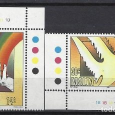 Sellos: MALTA 1995 - YVERT 929/30 - SELLOS NUEVOS - SERIE COMPLETA. Lote 124288239
