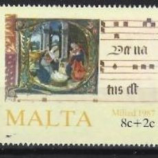 Sellos: MALTA 1987 - YVERT 760/2 - SELLOS NUEVOS - SERIE COMPLETA. Lote 124289719