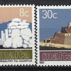 Sellos: MALTA 1983 - YVERT 668/9 - SELLOS NUEVOS - SERIE COMPLETA. Lote 124290331