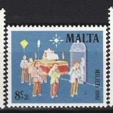 Sellos: MALTA 1981 - YVERT 640/2 - SELLOS NUEVOS - SERIE COMPLETA. Lote 124291223