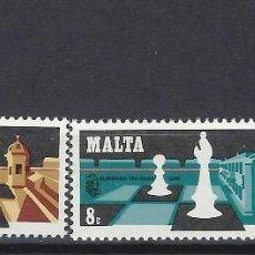 Sellos: MALTA 1980 - YVERT 609/11 - SELLOS NUEVOS - SERIE COMPLETA. Lote 124291719