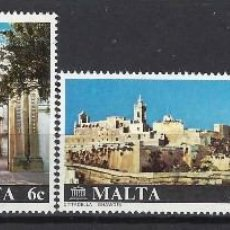 Sellos: MALTA 1980 - YVERT 598/01 - SELLOS NUEVOS - SERIE COMPLETA. Lote 124292031
