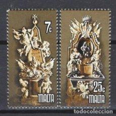 Sellos: MALTA 1978 - YVERT 564/5 - SELLOS NUEVOS - SERIE COMPLETA. Lote 124292579