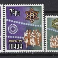 Sellos: MALTA 1978 - YVERT 569/72 - SELLOS NUEVOS - SERIE COMPLETA. Lote 124292803