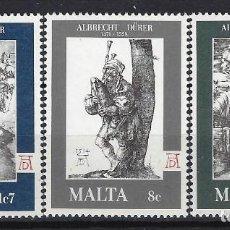 Sellos: MALTA 1978 - YVERT 561/3 - SELLOS NUEVOS - SERIE COMPLETA. Lote 124292975