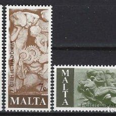 Sellos: MALTA 1977 - YVERT 551/3 - SELLOS NUEVOS - SERIE COMPLETA. Lote 124293191