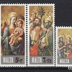 Sellos: MALTA 1976 - YVERT 533/6 - SELLOS NUEVOS - SERIE COMPLETA. Lote 124293831