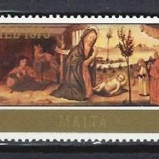 Sellos: MALTA 1975 - YVERT 513/5 - SELLOS NUEVOS - SERIE COMPLETA. Lote 124293931