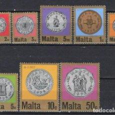 Sellos: MALTA 1972 - YVERT 441/8 - SELLOS NUEVOS - SERIE COMPLETA. Lote 124294807