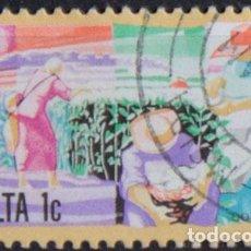 Sellos: MALTA 1981 • USADO • ACTIVIDADES. Lote 150844197