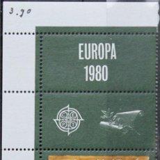 Sellos: MALTA 1980 • YT 603 ** NUEVO ** • EUROPA CON VIÑETAS. Lote 132876630