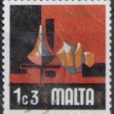 Sellos: MALTA 1973 • YT 464 USADO • ASPECTOS DE MALTA: CERÁMICA. Lote 132913970