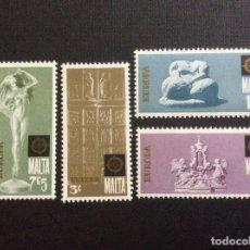 Sellos: MALTA Nº YVERT 488/1*** AÑO 1974. EUROPA. Lote 138077390