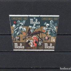 Sellos: MALTA 1967, YVERT 366-89, MNH-SC. Lote 143813794