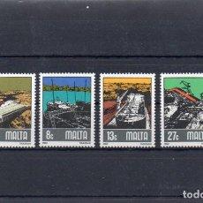 Sellos: MALTA 1982, YVERT 643-56, MNH-SC. Lote 143814518