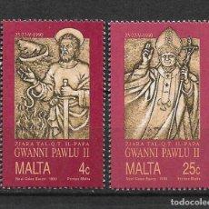 Sellos: MALTA 1990 ** MNH - 2/1. Lote 144604158