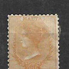 Sellos: MALTA OPORTUNIDAD SELLO DE 1/2 PENNY 1860/82 MUY ALTO VALOR DE CATALOGO NUEVO CON CHARNELA. Lote 149862130