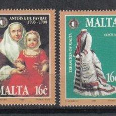 Sellos: MALTA 1998 - TESOROS MALTESES - YVERT Nº 1007/1010**. Lote 155578646