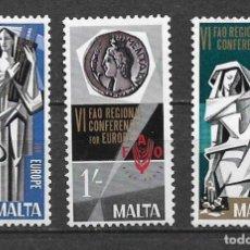 Sellos: MALTA 1968 ** NUEVO EUROPA FAO - 4/36. Lote 160434930