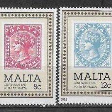 Sellos: MALTA 1985 ** NUEVO HISTORIA POSTAL - 4/36. Lote 160435362