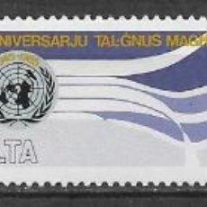 Sellos: MALTA 1985 ** NUEVO ONU - 4/36. Lote 160435654
