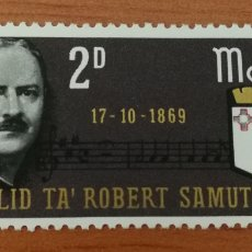 Sellos: MALTA N°391 MNH, AÑO 1969. Lote 161671857