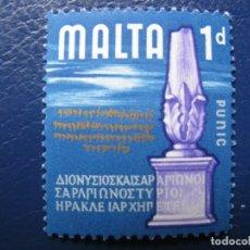 Sellos: MALTA, 1965 YVERT 304. Lote 169918632
