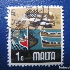 Sellos: MALTA, 1973 YVERT 463. Lote 169919780