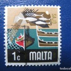 Sellos: MALTA, 1973 YVERT 463. Lote 169919920