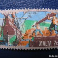 Sellos: MALTA, SELLO USADO. Lote 169960144