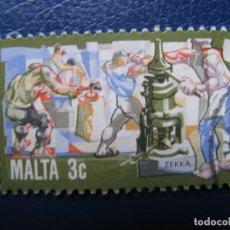 Sellos: MALTA, SELLO USADO. Lote 169960288