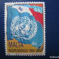 Sellos: MALTA, 1989 INDEPENDENCIA DE MALTA. Lote 169961076