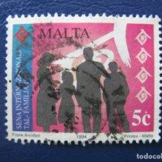 Sellos: MALTA, 1994 SELLO USADO. Lote 169965952