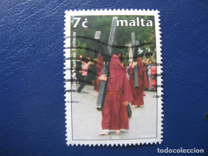 MALTA, 2006 SELLO USADO (Sellos - Extranjero - Europa - Malta)