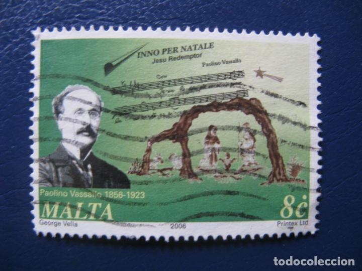 MALTA, 2006 PAOLINO VASALLO (Sellos - Extranjero - Europa - Malta)