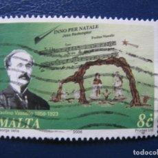 Sellos: MALTA, 2006 PAOLINO VASALLO. Lote 169978208