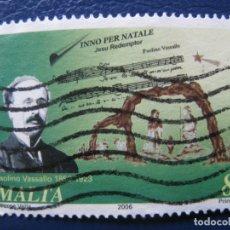 Sellos: MALTA, 2006 HIMNO DE NAVIDAD, PAOLINO VASALLO. Lote 169978344
