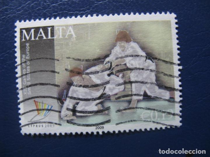 MALTA,2009 SELLO USADO (Sellos - Extranjero - Europa - Malta)