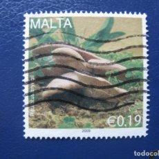 Sellos: MALTA, 2009 SELLO USADO. Lote 169979408