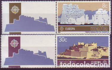 MALTA 668/9 EUROPA CEPR (Sellos - Extranjero - Europa - Malta)