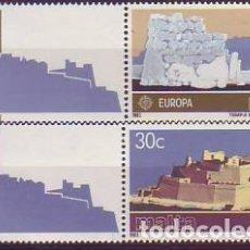 Sellos: MALTA 668/9 EUROPA CEPR. Lote 171510672