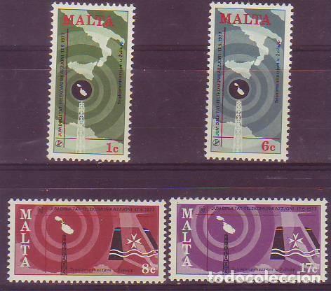 MALTA 545/8 TELECOMUNICACIONES (Sellos - Extranjero - Europa - Malta)