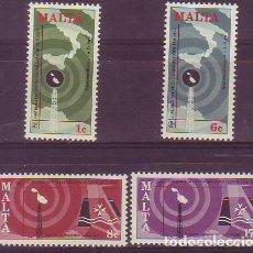 Sellos: MALTA 545/8 TELECOMUNICACIONES. Lote 171511013