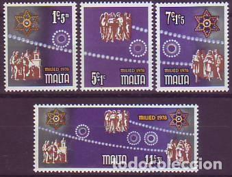 MALTA 569/72 NAVIDAD (Sellos - Extranjero - Europa - Malta)