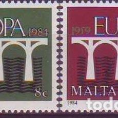 Sellos: MALTA 685/6 EUROPA CEPT. Lote 172147350