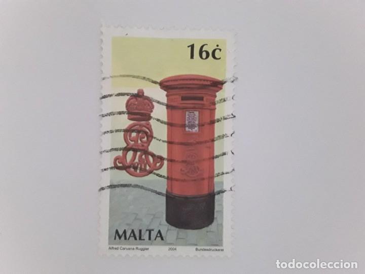 MALTA SELLO USADO (Sellos - Extranjero - Europa - Malta)