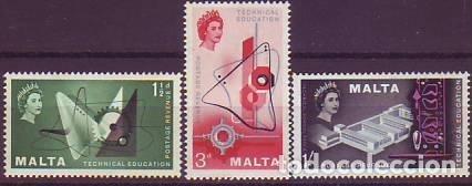 MALTA 259/61 ENSEÑANZAS TÉCNICAS (Sellos - Extranjero - Europa - Malta)