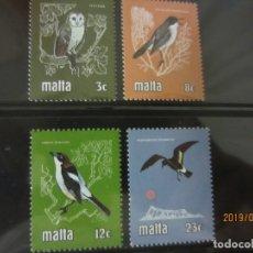Sellos: MALTA - 4 V. NUEVO. Lote 177333064